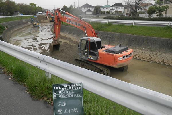 河川・ため池工事